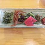 遠州屋 - 前菜