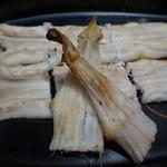 食通 ゆたか - 穴子白焼き