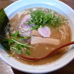 ひのき屋 - 濃厚煮干し醤油そば(H25.12.25)