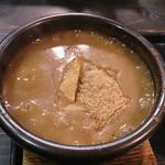 麺屋 らいこう - 魚粉が沈まないスープ濃度