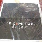 ル・コントワール・デュ・グー - LE CoMPTOIR du gout
