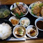23371192 - 豚の角煮とひれかつ膳(1,780円)