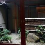 23371522 - 奥の座敷から見える風情のある中庭