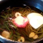 京甘味 文の助茶屋   - 山菜茶そば