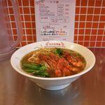 新加坡蝦麺 - エビ麺プロウン(スープ、ミックス、850円)