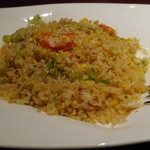 過門香 - 蟹肉とレタスの炒飯