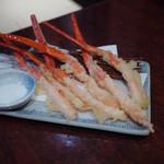 高田屋 - ズワイ蟹のてんぷら~☆