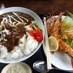 ファミリーレストラン ニューあぶくま - あぶくまカレーライス ¥1000