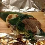 かんすい苑 覚楽 - 夕食(焼き物、赤鯥)