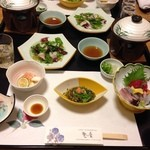 かんすい苑 覚楽 - 夕食