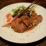 23377777 - 定番!豚肉の生姜焼き