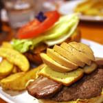 ジャストミート - 燻製バーガーデラックス