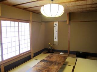 草喰 なかひがし - 2階の和室('13.12月)
