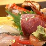 いきいき亭 - ミニ金沢丼の具材