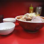 ラーメン二郎 - 大ラーメン 750円