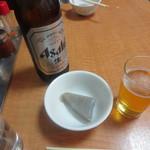 中華みかく亭 - ビールにこんにゃくです