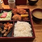 酒菜 竹井 - カキフライ