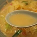 浜浪 - 長崎チャンポン玉子入 スープ