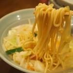 浜浪 - 長崎チャンポン玉子入 麺