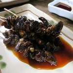 豊田屋 - ウナギ肝焼き