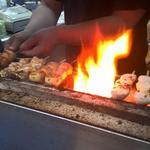 大統領 - 備長炭で焼かれた焼き物は、ひと味もふた味も違います。