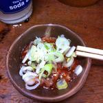 大統領 - タコの塩辛。タコが半透明でトロリとした食感。日本酒、焼酎、どちらにも合う!