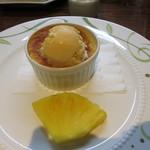 ヴァンダンジュ - 温かいリンゴのケーキ