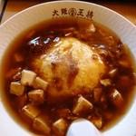 23384540 - ふわとろ麻婆豆腐天津飯590円