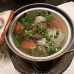懐仙 - 今回の料理の中で一番美味しかった♪