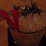 カクテル酒場 バンブー - ローズマリーのモヒート
