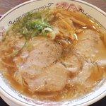 丸醤屋 - こく旨醤油ラーメン580円