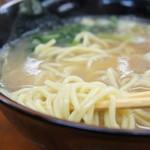 麺屋 雄 - ラーメンの麺