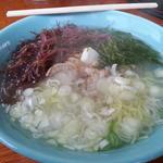 三陸亭 - 料理写真:磯ラーメン600円