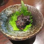 板そば 喜右衛門 - 蕎麦味噌 320円
