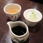 板そば 喜右衛門 - 蕎麦汁(別売り) 210円