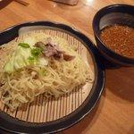 2339596 - 広島風激辛つけ麺(普通盛) \630
