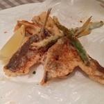 海山レストラン ボーノ! - 鯵と野菜のフリット