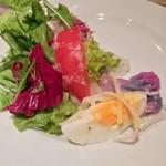 海山レストラン ボーノ! - 房総野菜の具沢山サラダ