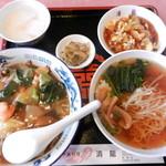 中国料理 清瀧 - 料理写真:中華飯定食