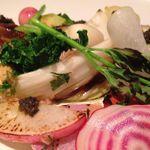 ブラッスリー ハルナ - いろいろ温野菜のサラダ