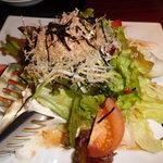 徳樹庵 - 豆腐サラダ
