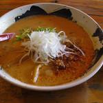 担々麺屋 炎 - 担々麺屋 炎(赤担々麺 730円※旧価格 +白飯100円)
