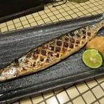 つるみ酒会場 いこい - 秋刀魚の塩焼き(炭火焼)