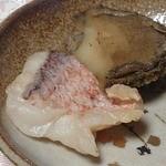 日本料理 はなのき - あわび、たい