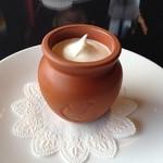 フランツカフェ - ランチセットで選んだのは神戸魔法の壺プリンです♥︎