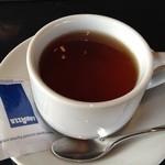 フランツカフェ - 食後の紅茶。香りがいい〜♥︎