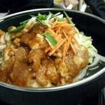 ドライブイン 峠屋 - ケーチャンがオススメ! 残ったスープにご飯と卵で雑炊も美味い!