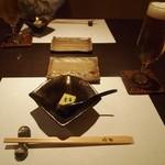 旬豊作 米家 - 料理写真:付き出し & 生ビール