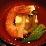 東海亭 - 海老、豆腐など