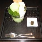 林屋茶園 - 抹茶パフェ